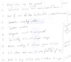 eng paragraph outline example handwritten paragraph outline