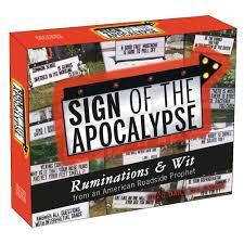 Sign Of The Apocalypse 2020 Desk Calendar