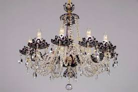 image of magnetic crystal for chandeliers