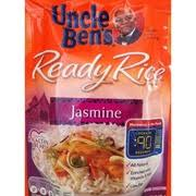 uncle ben s ready rice pouch jasmine rice nutrition grade b