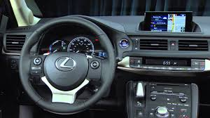lexus 2015 interior. Simple Lexus 2015 Lexus CT 200h Exterior And Interior In X