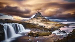 4k wallpaper clouds nature mountain