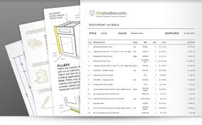 Cost Of Kitchen Cabinets Estimates And Examples Throughout Cabinet
