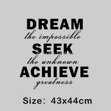 Dream The Impossible Quotes Best of Inspirational Quotes Dream The Impossible Seek The Unknown Achieve