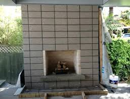 how to build an outdoor fireplace with cinder blocks cinder block fireplace plans build outdoor fireplace