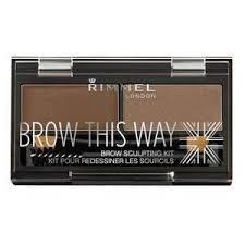 <b>Rimmel</b> London <b>Brow This Way</b> Eyebrow Kit 3.3g Mid Brown 002 ...