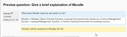 creating an essay question in the moodle question bank inmotion essay question 3 final moodle