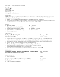 Lovely Application Letter Medical Technologist Robinson Removal