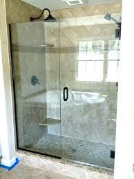 kohler shower door frameless glass