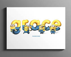 minion name art personalised name sign nursery wall art minion baby gift childrens name plaque baby room decor digital download on personalised baby wall art uk with minion name art personalised name sign nursery wall art minion
