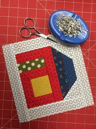 Free House Quilt Block Pattern + Tutorial - On Craftsy & September Scrappy Block Adamdwight.com