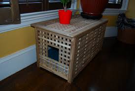 corner cat litter box furniture. Unique Cat Litter Box Ideas Made Of Wood Decoraded On The Corner Room Together Furniture