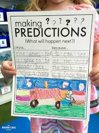 free graphic organizer for making predictions plus i love the predicting anchor chart in this post