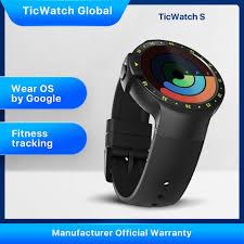 <b>TicWatch S</b>, <b>черные</b> умные часы , Bluetooth, умные часы с GPS ...