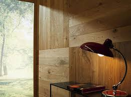 wooden wall panelling with haro brand