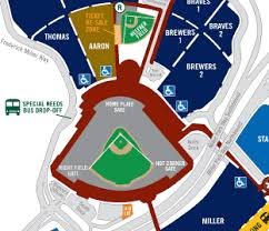 Milwaukee Brewers Seating Chart Miller Park Miller Park Parking Guide Maps Tips Deals Spg