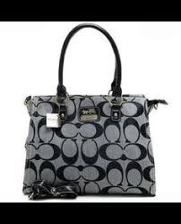 Coach Top Zip In Signature Large Grey Satchels APC Makes You More Beautiful  And Elegant,