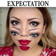 i tried these halloween makeup tutorials and here are my results