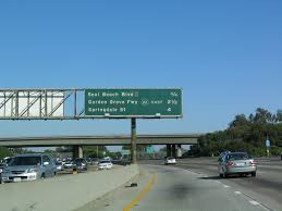 interstate 405 san go freeway south and california 22 east