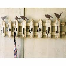 Bird Coat Rack Bird Picket Fence Coat Rack from Kalalou 1