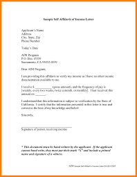 12 Affidavit Sample Letters Best Ideas Of Affidavit Of Support
