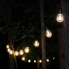 Edison Outdoor Patio Lights Sunnydaze Indoor Outdoor Led String Lights Edison Bulbs 23 Foot Lit 20 Count