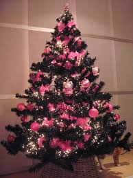 christmas trees decorated pink. Interesting Trees Christmas Tree Decorations Pink Trees With Decorated