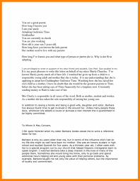 Letter Of Recommendation For Adoption Sample Adoption Reference Letter Sample For Family Member With