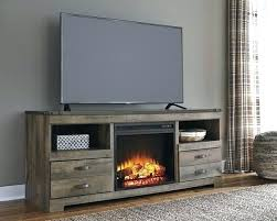 antique white electric fireplace tv stand costco modern o