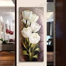 <b>WEEN Digital</b> Elegant Flower Painting by Numbers <b>DIY</b> Wall <b>Oil</b> ...