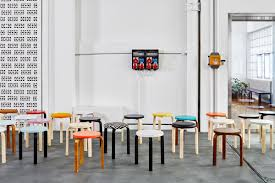 nordic furniture design. Colorful Stool 60 Seating In The Artek Showroom Zurich, Switzerland Photo By Eduardo Perez Nordic Furniture Design T