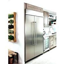 kitchenaid built in refrigerator refrigerators kitchenaid built in refrigerator vs sub zero
