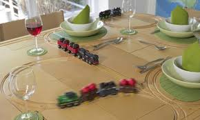 the dining table that doubles up as a train track does that mean dinner will always be late daily mail