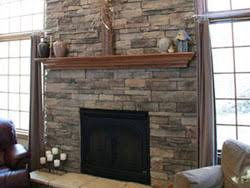 Before U0026 After Modern Direct Vent Fireplace With Stone VeneerStacked Stone Veneer Fireplace