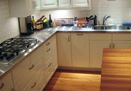 stainless steel countertops cost kitchen ikea custom nouvelles with countertop remodel 1