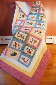 230 best Alphabet Quilts images on Pinterest   Colors, Creative ... & I've got a cute alphabet panel I'm looking for ideas on how to arrange into  a quilt. Adamdwight.com