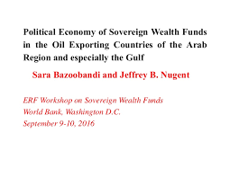 political economy of sovereign wealth funds on the oil exporting coun