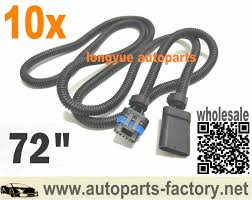 popular 6 5 diesel wiring harness buy cheap 6 5 diesel wiring longyue 10pcs universal 6 5 6 5l turbo diesel fsd pmd relocation extension harness cable for