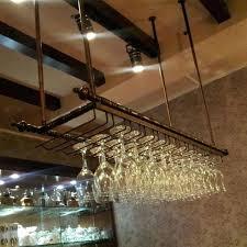 hanging wine glass holder hanging wine glass holder target ikea grundtal stainless steel hanging wine glass