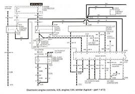 ford ranger wiring diagrams the ranger station 3 0 4 0 electronic engine controls 1 of 3