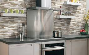 modern stove backsplash