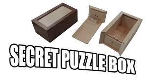 Puzzle Box Design Plans How To Build A Secret Compartment Box Puzzle Box
