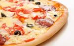 Тонкое тесто для пиццы рецепт пошагово в духовке 167