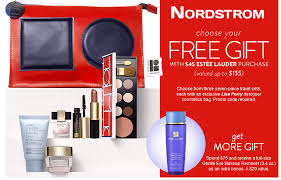 choose 1 of 3 estée lauder gift now at nordstrom free with 45 purchase or