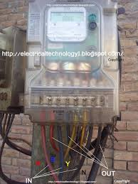 how to wire phase kwh meter electrical technology how to wire a 3 phase kwh meter