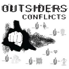the outsiders conflict graphic organizer types of conflict by the outsiders conflict graphic organizer 6 types of conflict by s e hinton