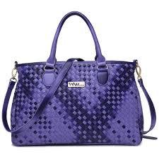 medium leather satchel multiple pocket
