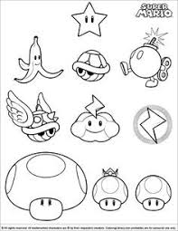 Fresh Mario Brothers Toad Coloring Pages Howtobeawesome