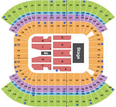Titans Stadium Seating Chart Nissan Stadium Tickets And Nissan Stadium Seating Chart