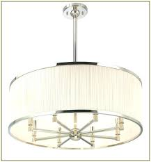 drum shade chandelier chandeliers with enchanting oval large crystals